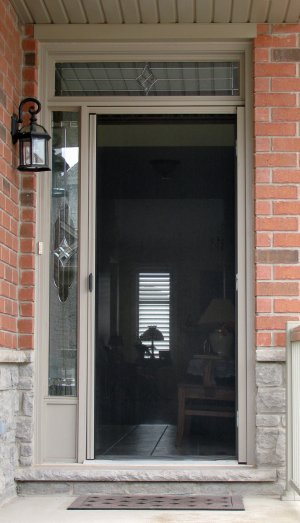 Single Doors Toronto Screen Doors